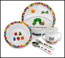 caterpillar dishes