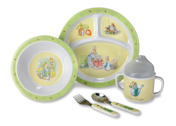 Peter Rabbit Dish Set