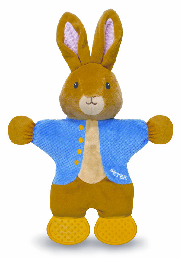 Peter Rabbit Teether Toy
