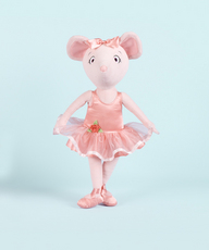 Angelina Ballerina 18 inch Cloth Doll