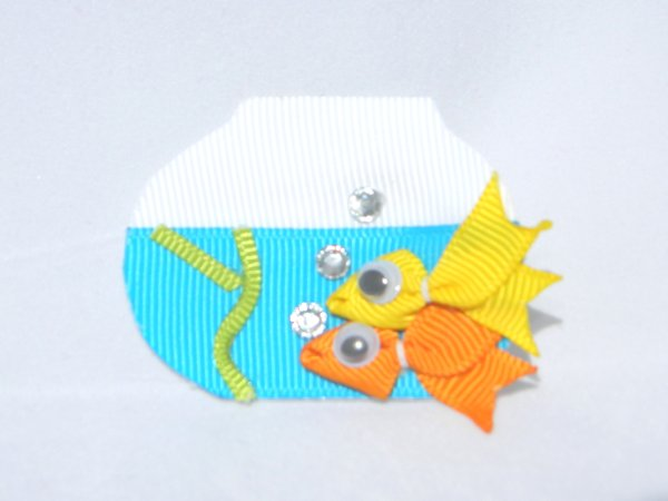 Fish Bowl Ribbon Sculpture