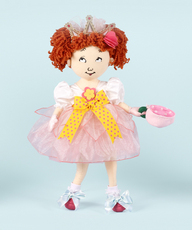 Fancy Nancy Tea Party 18 Inch Cloth Doll
