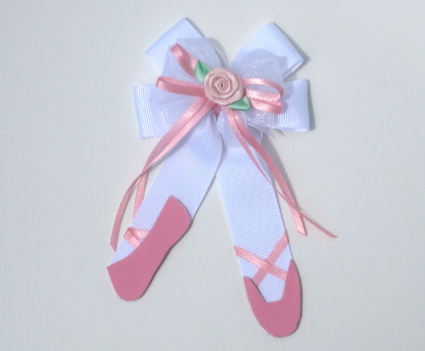 Pink and White Ballet Slippers