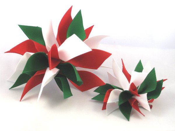 Christmas Medium Splash Bow