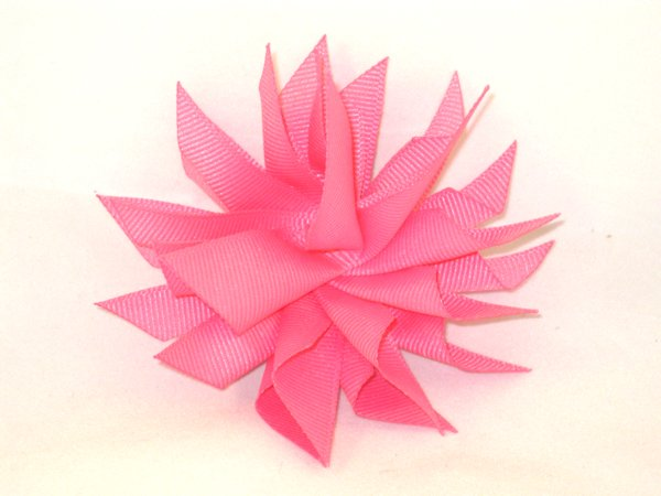 Hot Pink Medium Splash Bow