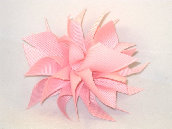 Light Pink Medium Splash Bow