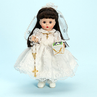 My First Communion Brunette