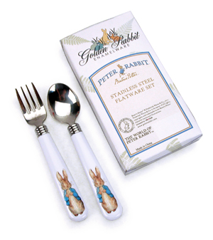 Peter Rabbit Flatware Set