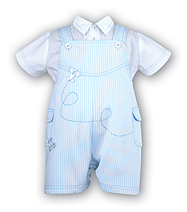 Boy's Bib Shirt and Short