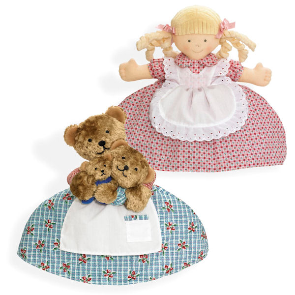 Goldilocks and the Three Bears Topsy Turvy