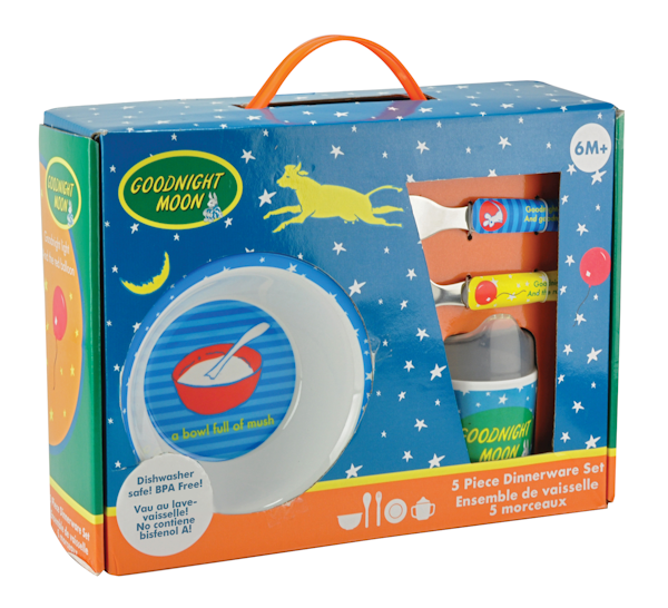 Goodnight Moon 5 Piece Mealtime Set