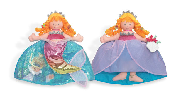 Little Mermaid/Princess Topsy Turvy