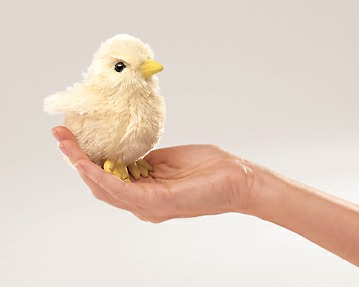 Mini Chick Puppet