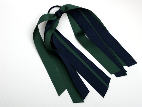 Navy and Forest Green Pony-O