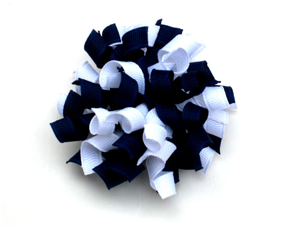 Light Navy and White Korker