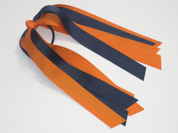 Orange and Navy Pony-O