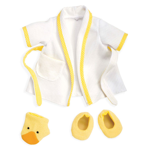Rosy Cheeks Baby Bathrobe Set