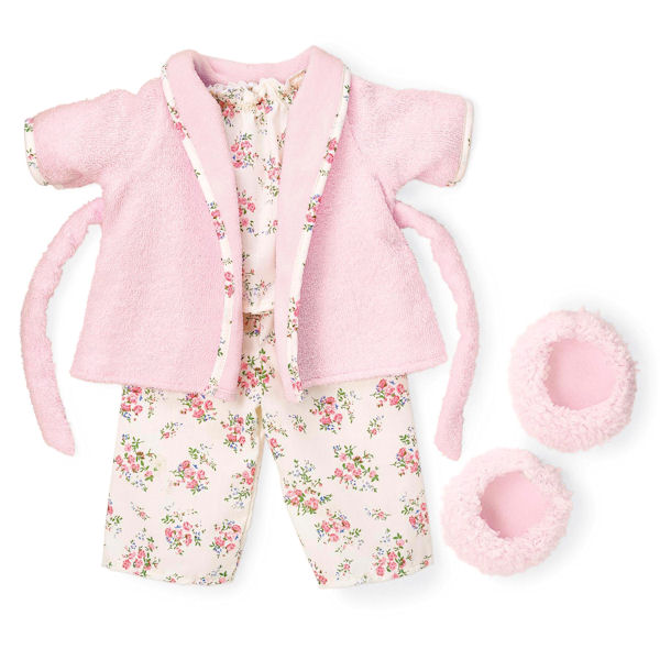 Rosy Cheeks Big Sister Pajama and Robe Outfit Set
