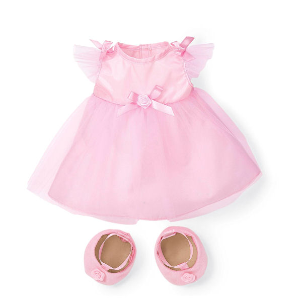 Rosy Cheeks Big Sister Party Dress Set