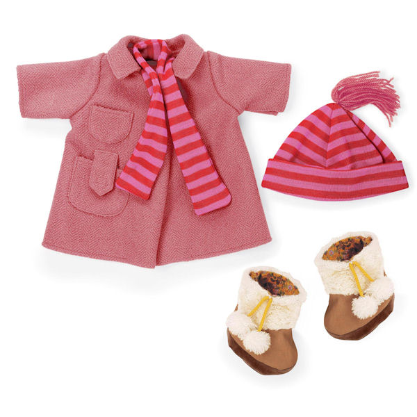 Rosy Cheeks Big Sister Winter Coat Outfit Set