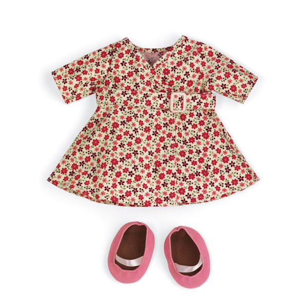 Rosy Cheeks Big Sister Wrap Dress Outfit Set