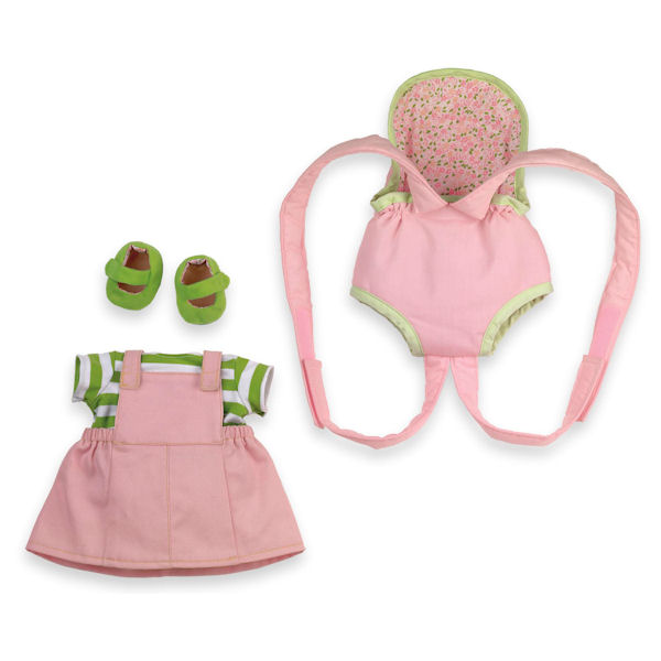 Rosy Cheeks Baby Jumper and Doll Carrier Set